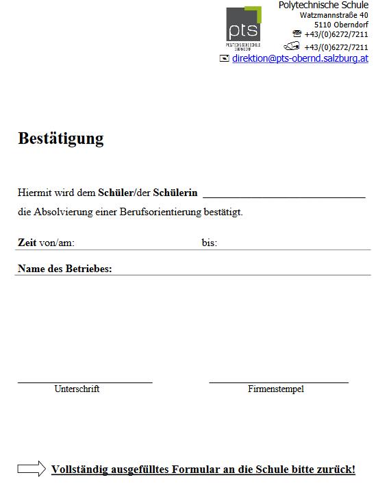 Downloads - Polytechnische Schule Oberndorf